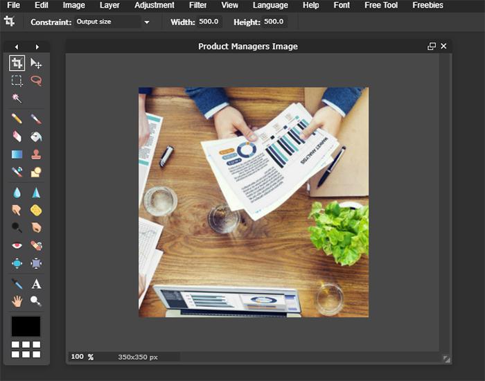 Pixlr Steps to Edit Image - Step 6
