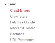 Google Search Console Errors Navigation