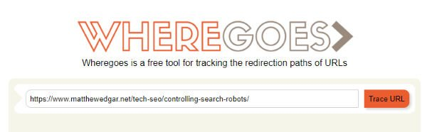 WhereGoes.com offers a simple tool to check for redirects.