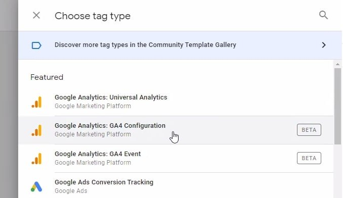 add ga4 tracking code in google tag manager